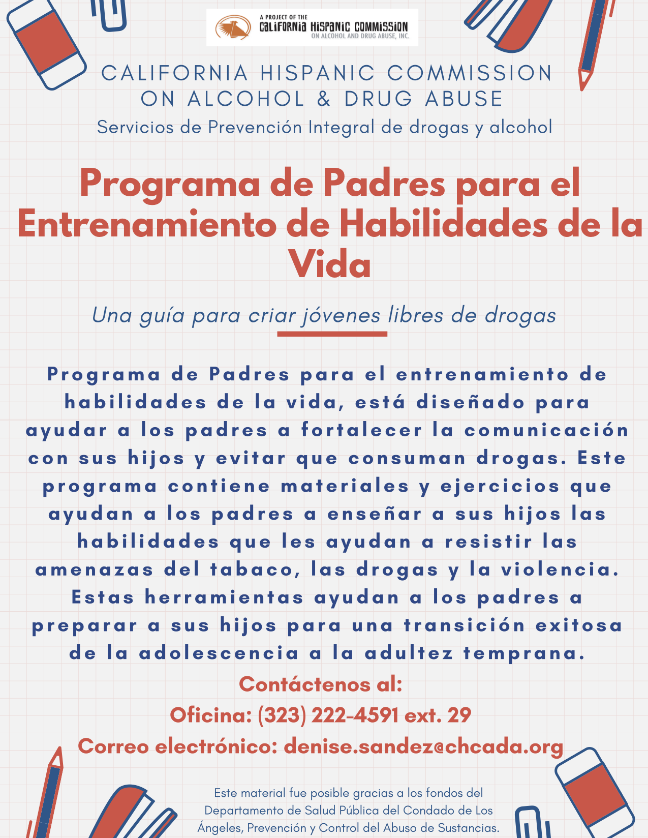 Botvin Life Skills Training Program Spanish