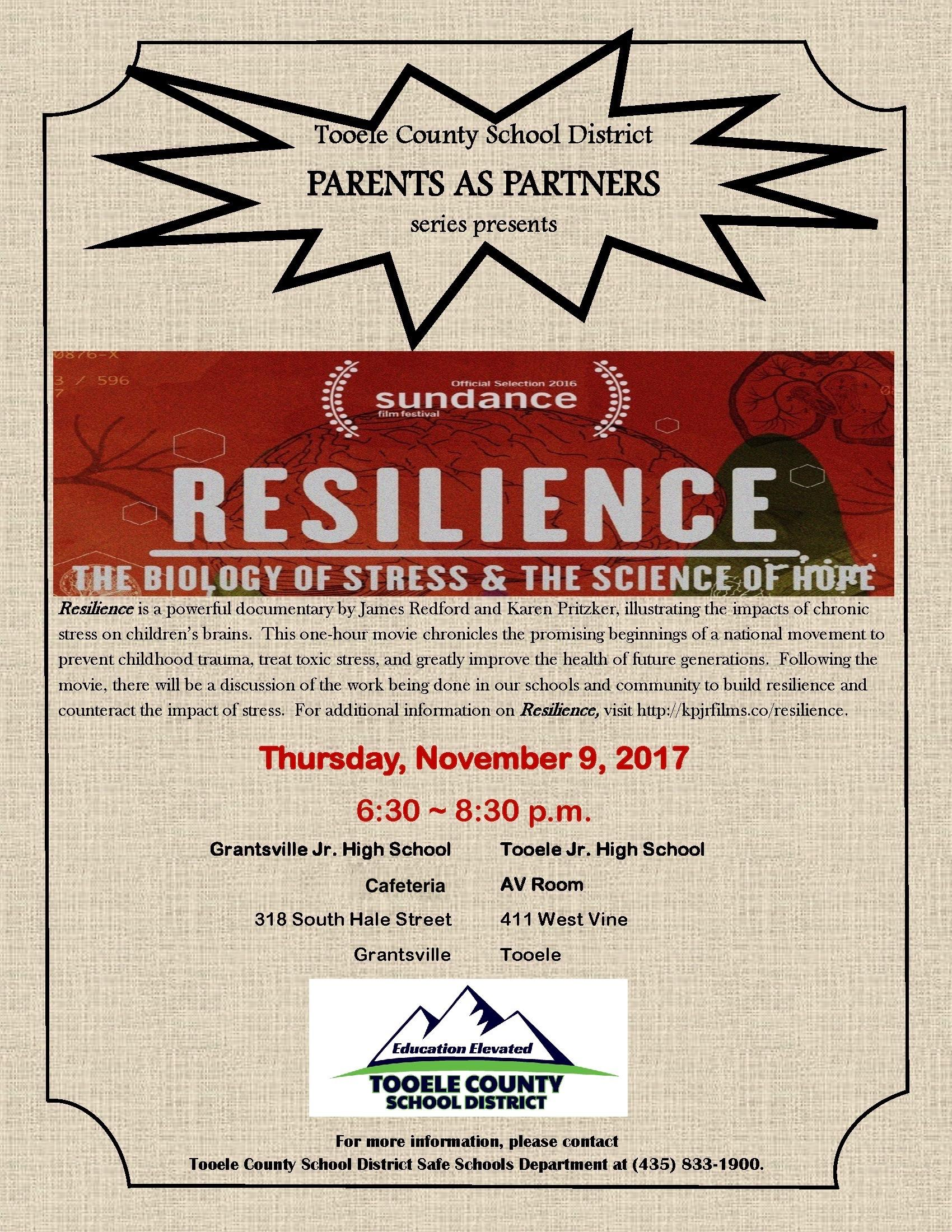 Parents as Partners event