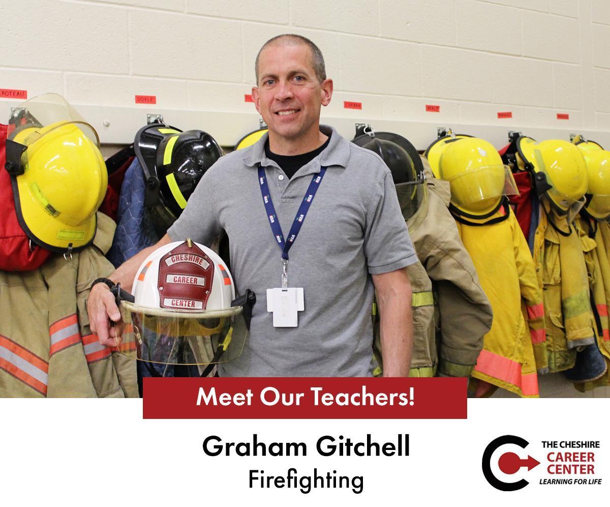 Firefighting Instructor Graham Gitchell