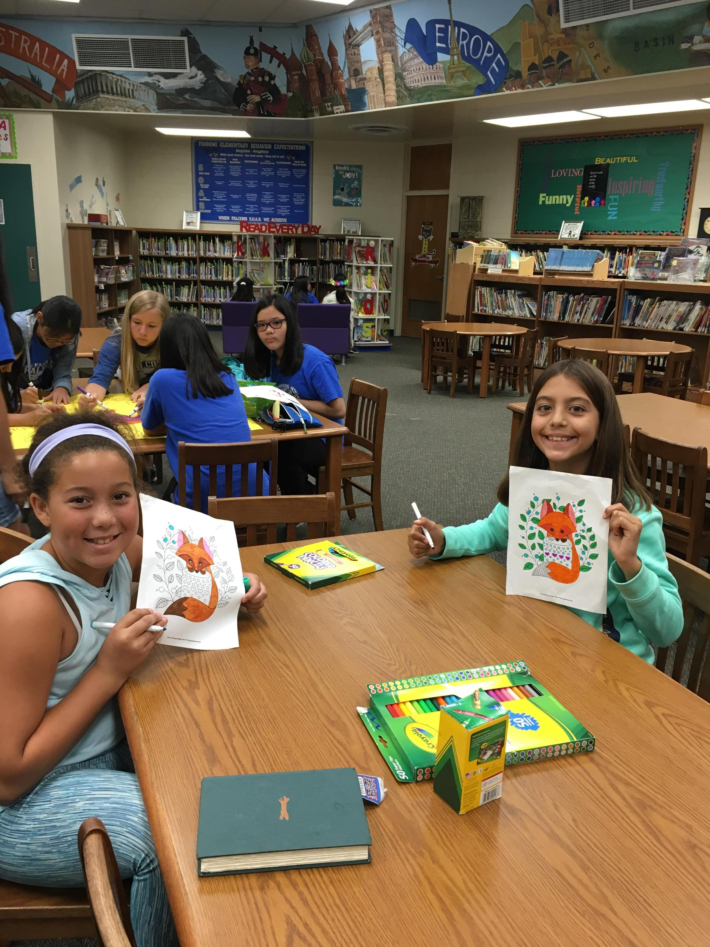 Crafts and Coloring!