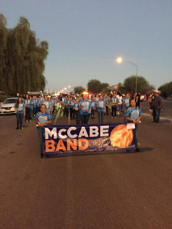 McCabe's Band Earns 1st Place in the Heber's Fall Festival Parade! Thumbnail Image