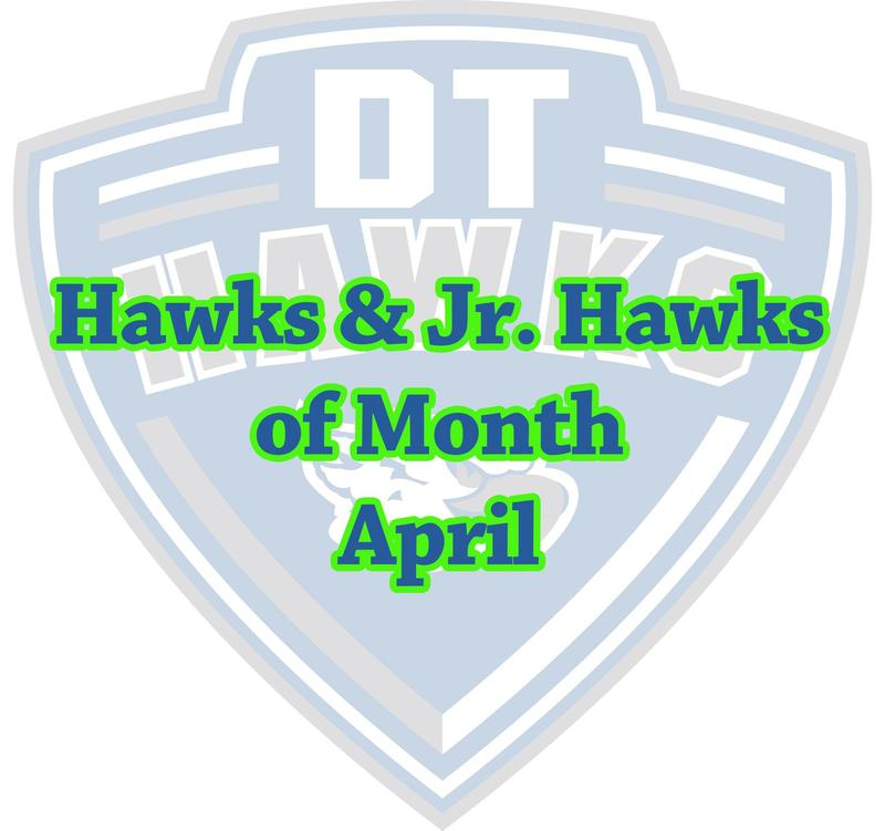 Hawks & Jr. Hawks of Month April Thumbnail Image
