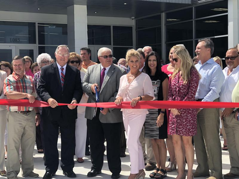Ribbon Cutting at Career & Technical Center