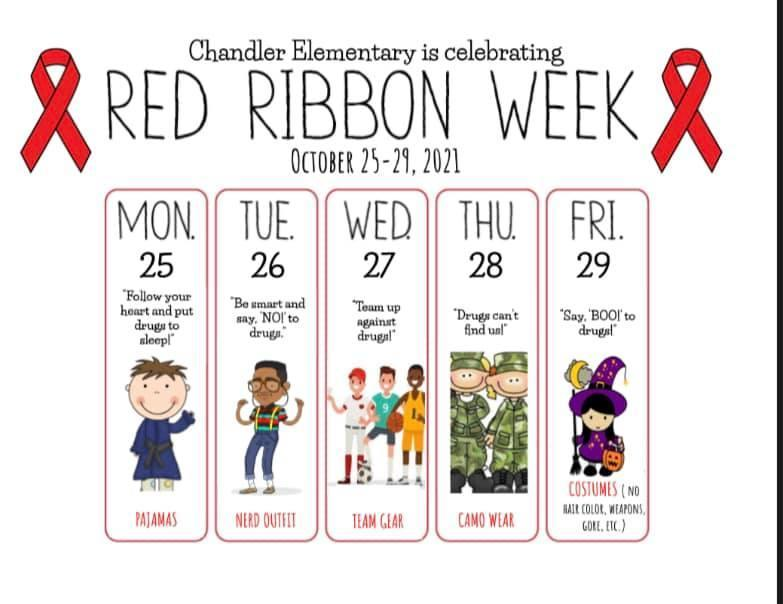 Red Ribbon Week - October 25-29 Featured Photo