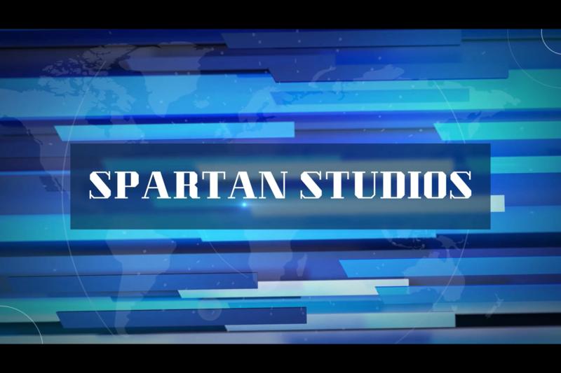 spartan studios sign