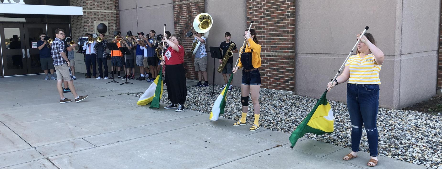 Band Opening Day