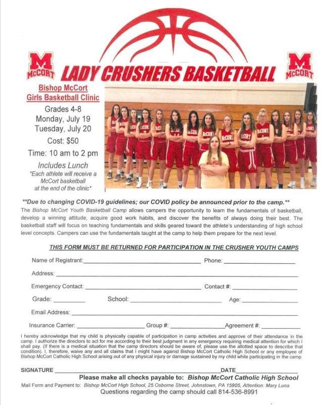 Lady Crushers Basketball Clinic Thumbnail Image