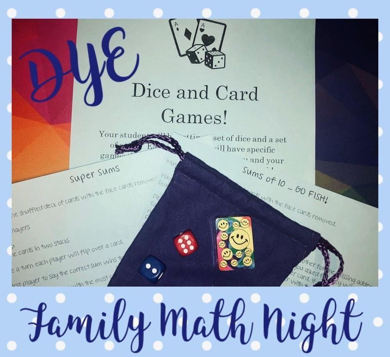 Family Math Night- Distant Learners Pickup Thumbnail Image