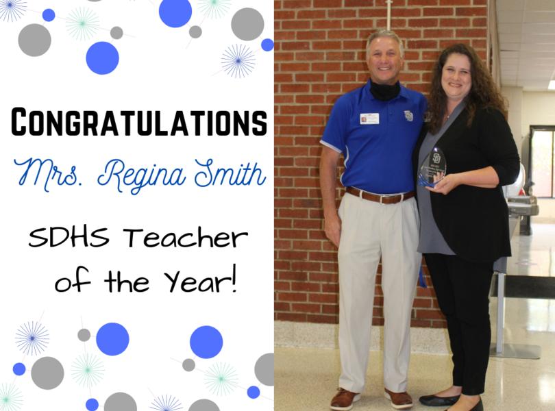 Teacher of the Year - Regina Smith
