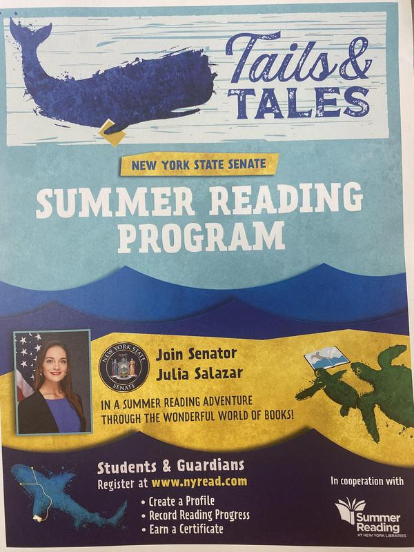 NY State Senate Summer Reading Program