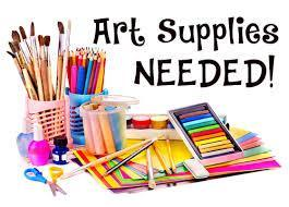 Art Supply Donations Needed Featured Photo