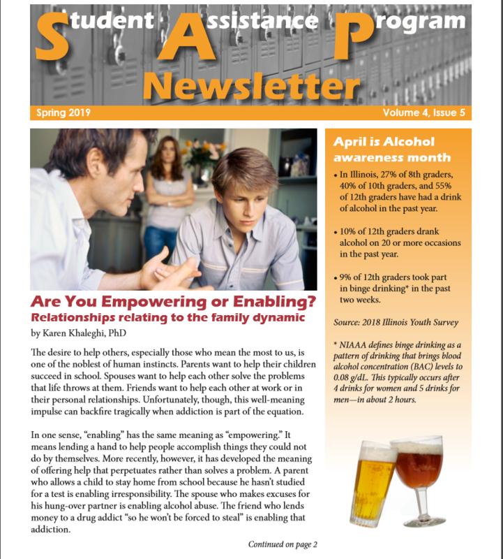 SAP Spring Newsletter Thumbnail Image