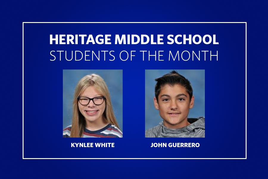 HMS Students of the Month