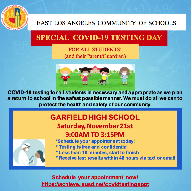 GHS COVID Testing