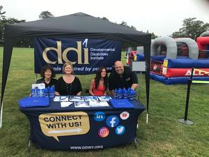 DDI team members at East Hampton Festival