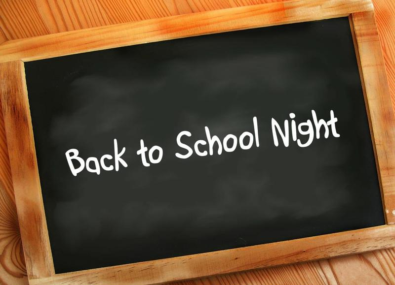 Back to School Night - Teacher Site Thumbnail Image