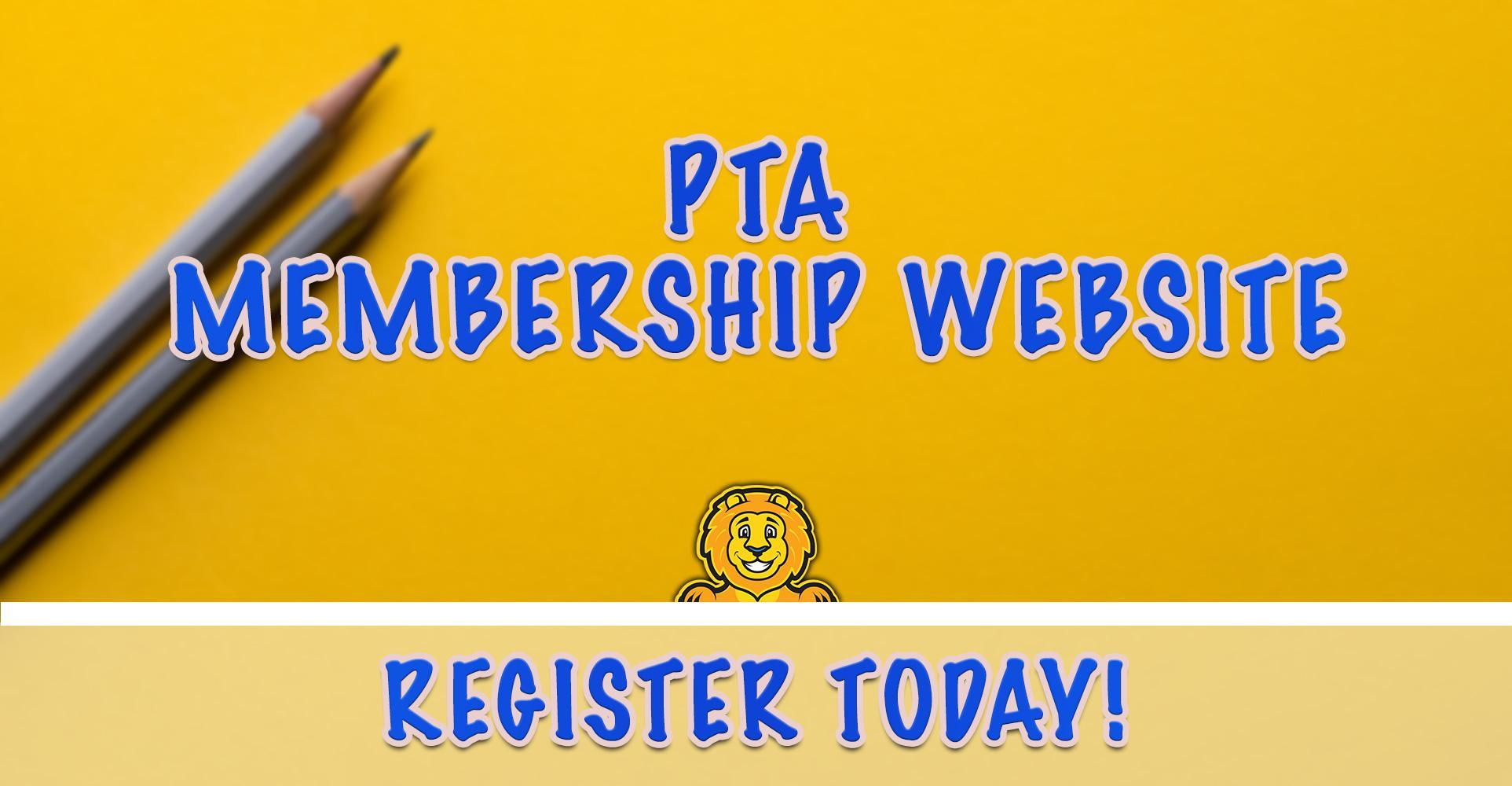 PTA Membership Website - Register Today!