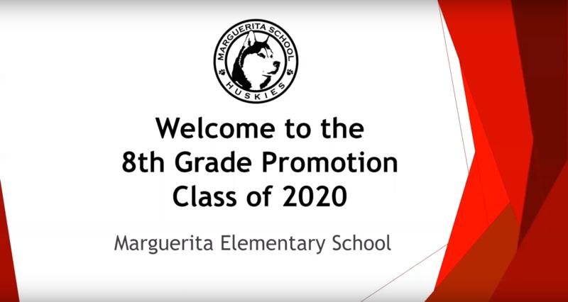 Marguerita 8th Grade 2020 Promotion Video Featured Photo