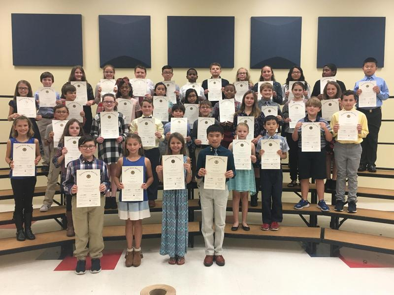PCES National Junior Beta Club Induction Ceremony Featured Photo