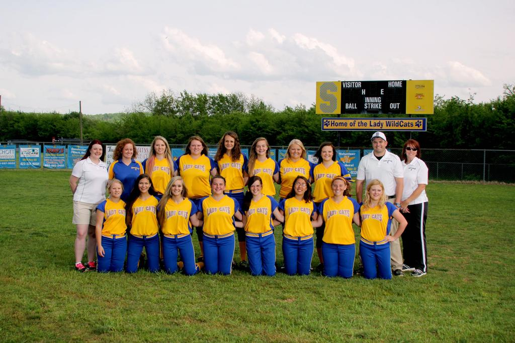 Ladycats Softball Team 2014