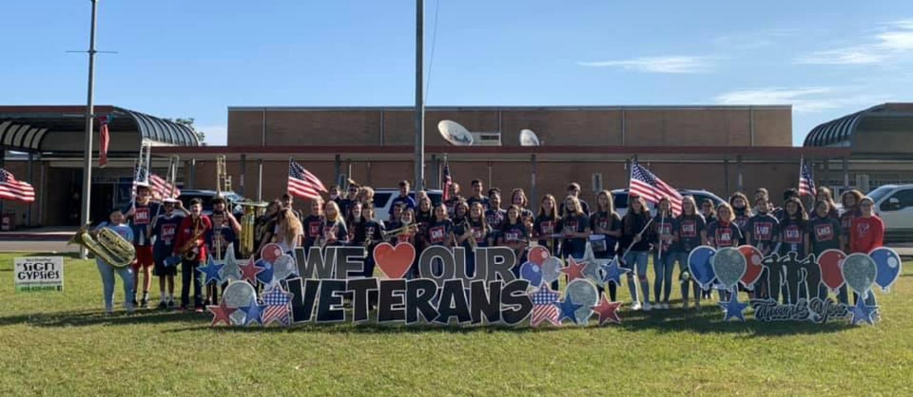 Veterans' day at LMS