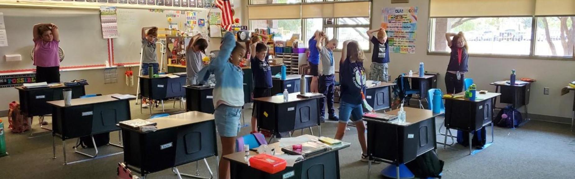 PE in Classroom