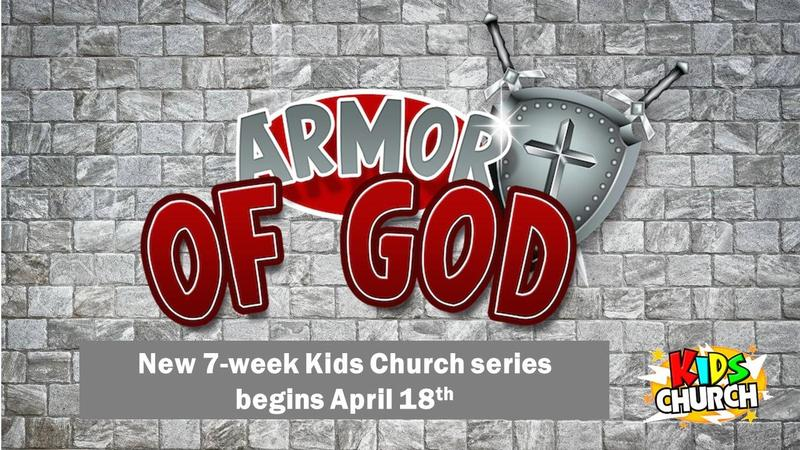 Armor of God Kids Church Series Featured Photo