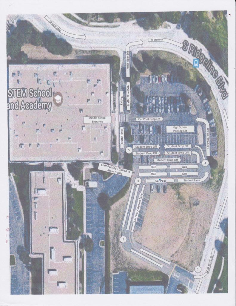 East Loop Driveline Map