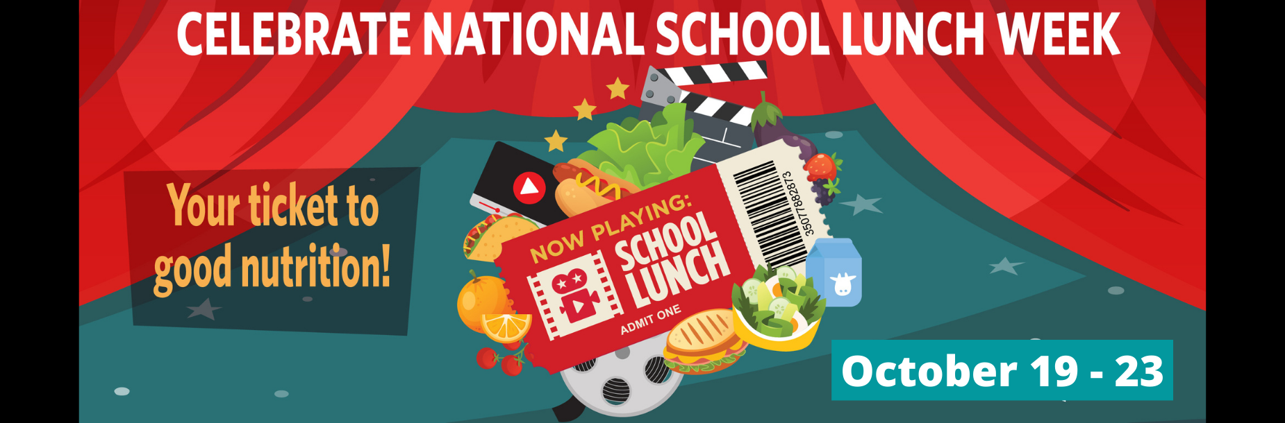 national school lunch week infographic