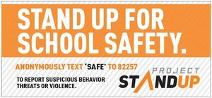 stand up for school safety