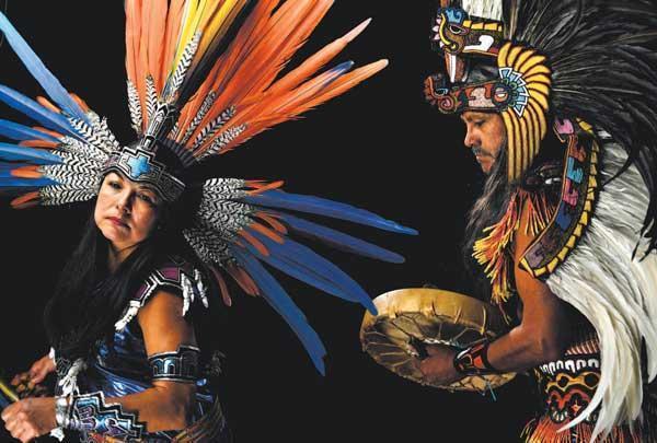 Grupo Tlaloc Danza Azteca