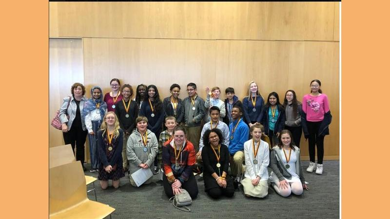 Seventh Grade Students Participate in National History Day Competition Featured Photo