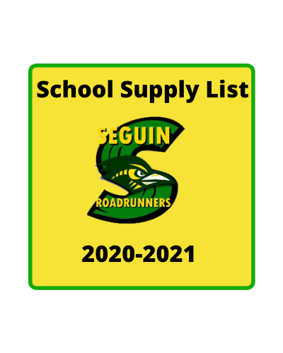 School Supply Announcement