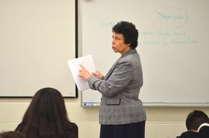 Jo-Ann Higgs Pope John teaching