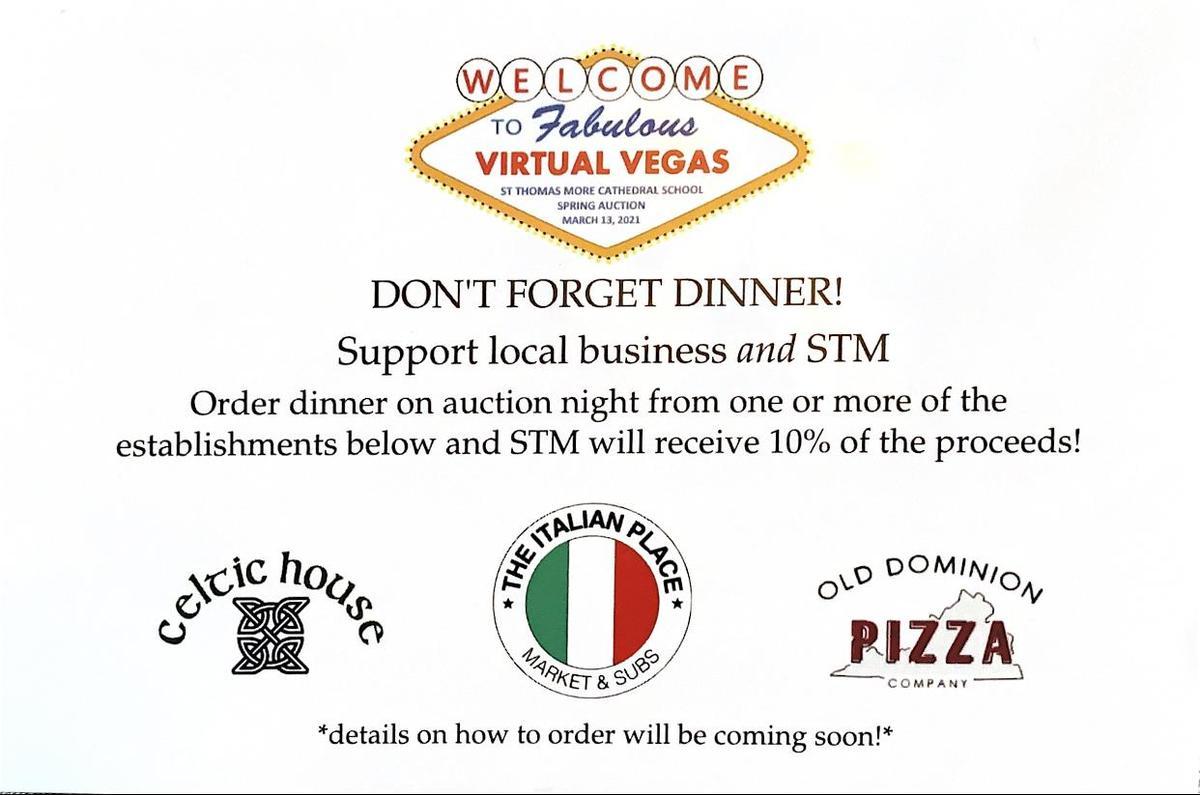 Virtual Vegas Auction Restaurants
