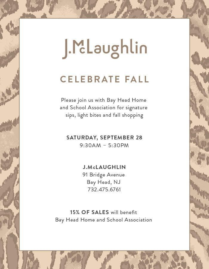J.McLaughlin Fundraiser