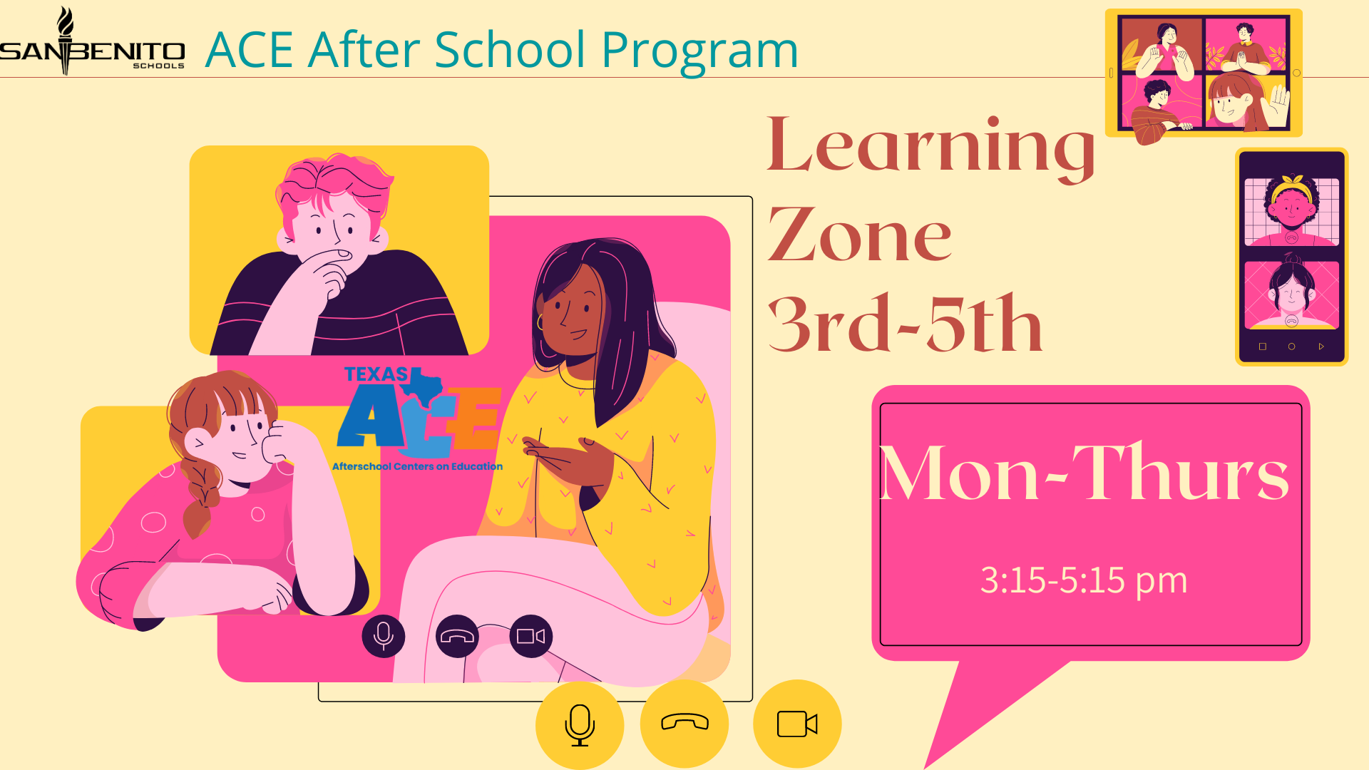 learning zone 3-5