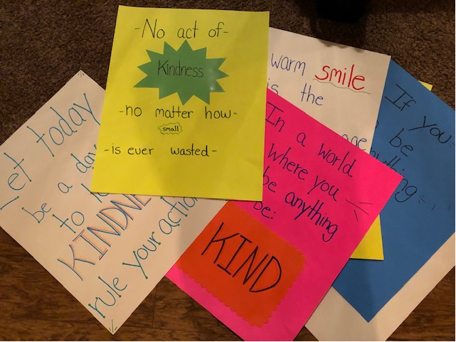 Constellation Kindness Posters
