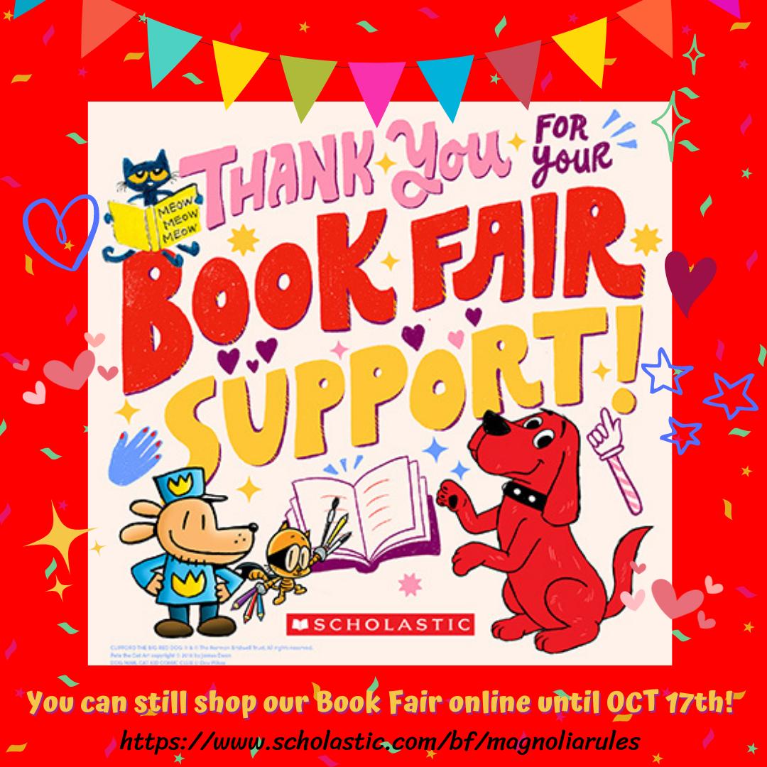 book fair thank you
