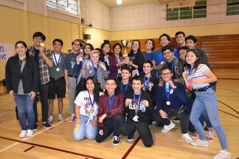 Chieftains Take Top Prize at WUHSD Science Cup Featured Photo