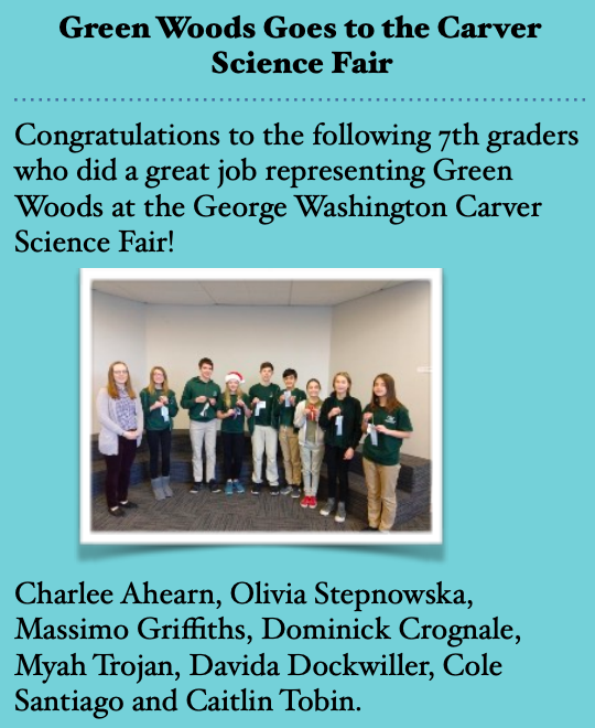 Carver Science Fair