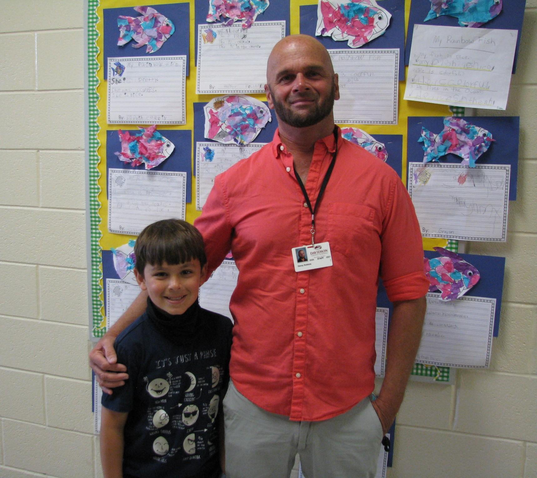 Mr. Robbins Teacher Assistant fo the year 2021-22