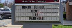 North School Loves its Panthers