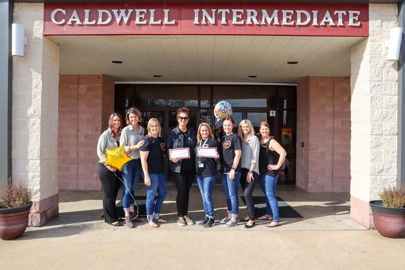 Caldwell Education and Leadership Foundation grants awards to several Caldwell I.S.D. teachers Featured Photo