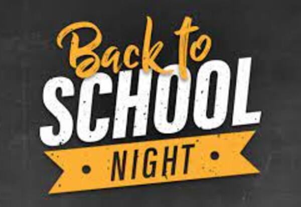 Back To School Night 2021 Featured Photo