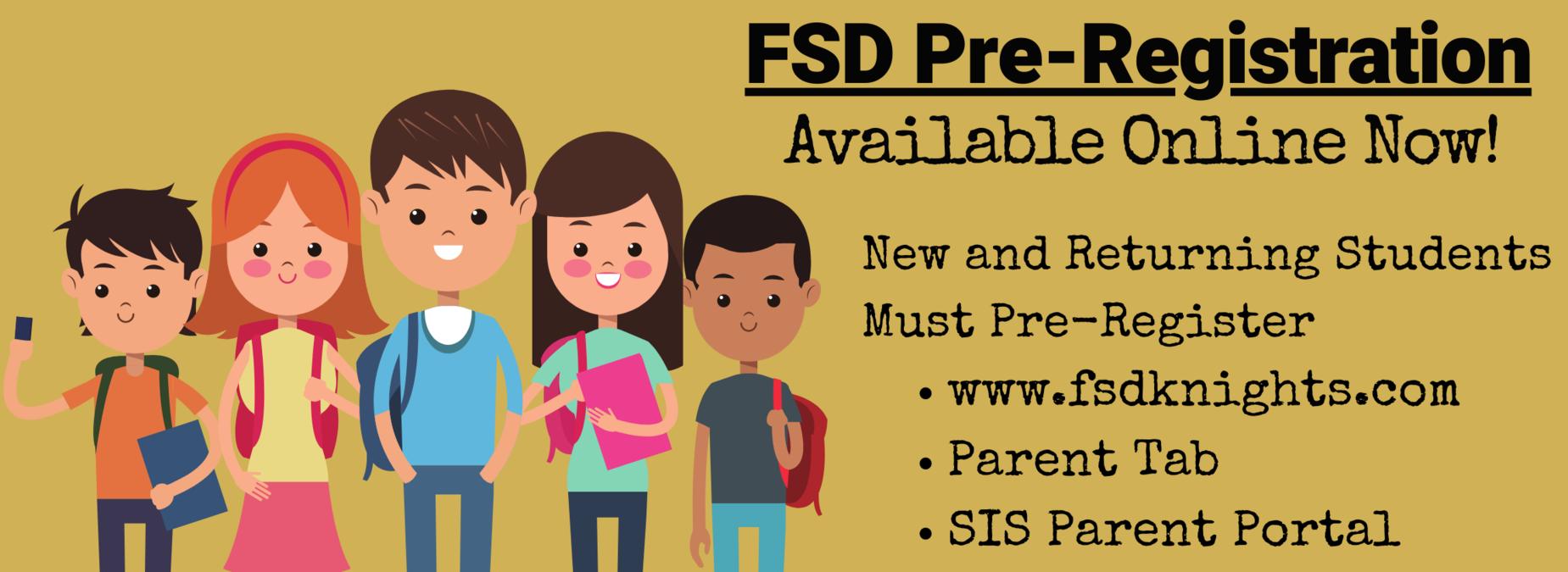 FSD Pre Registration