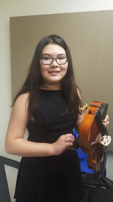 SJW (NEW) 7th Grader Earns Spot on Santa Clarita Youth Symphony Intermediate Orchestra Featured Photo