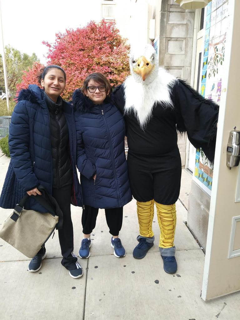 Our Hancock Eagle and friends! Thanks for stopping by!
