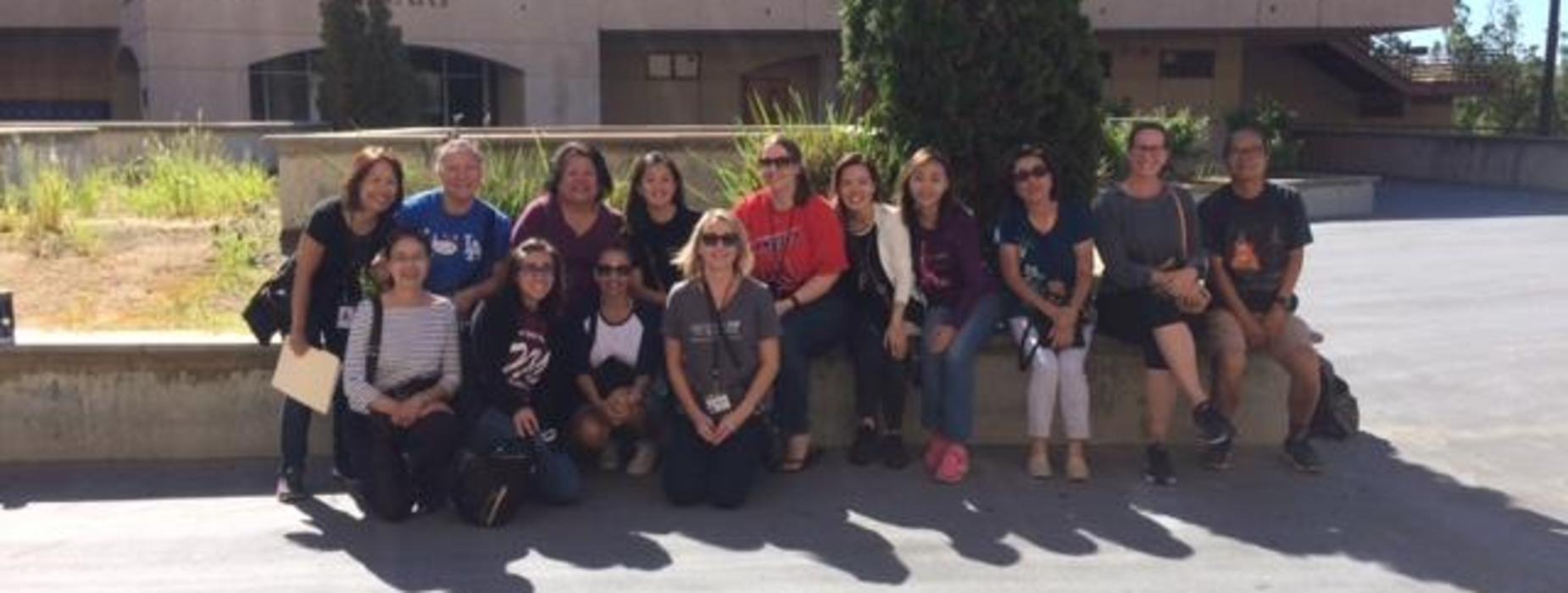 Marguerita Faculty visiting AHS