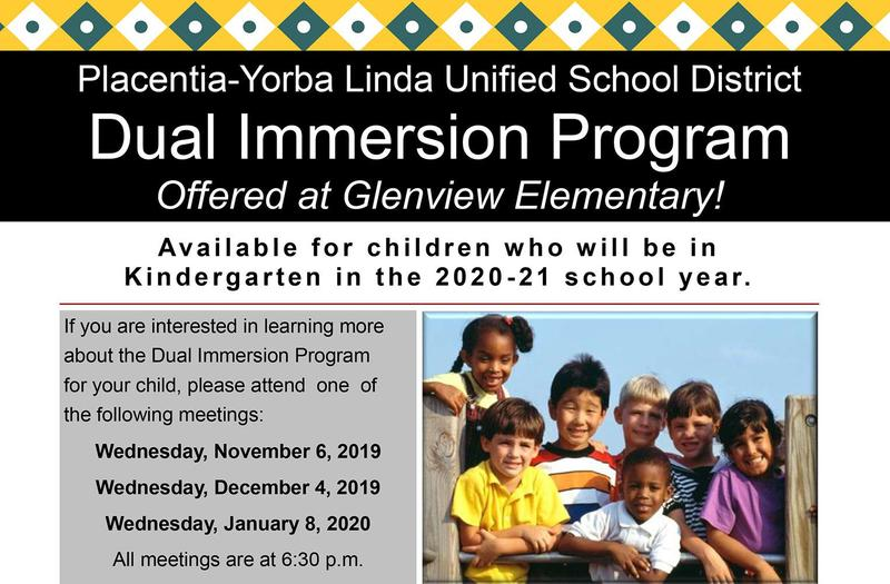 PYLUSD Dual Immersion Program Available for 2020-2021 Kindergartners